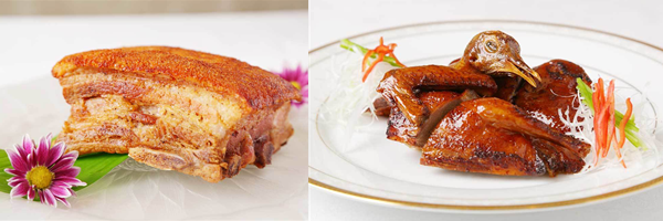 高級中国料理 銀座芳園のお料理1